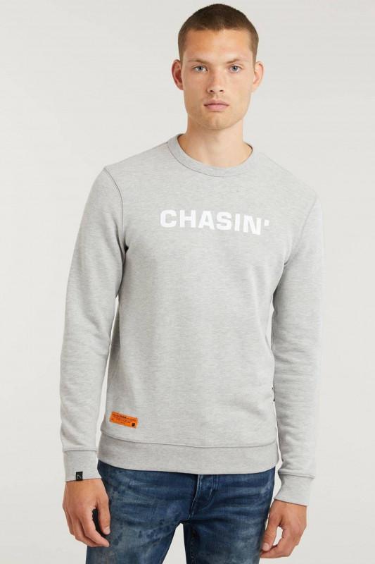 "CHASIN' Herren Sweatshirt - ""DUELL sweat grey"""
