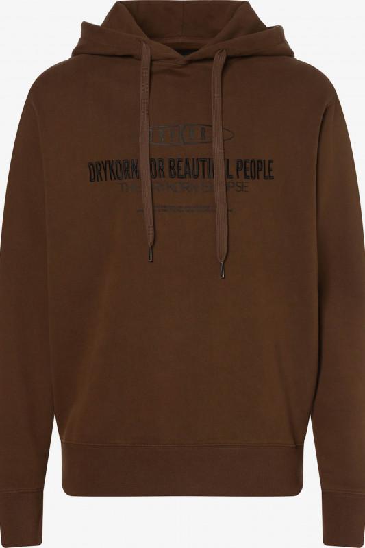 """DRYKORN Herren Sweatshirt - """"BRADLEY BROWN COL 1202"""""""