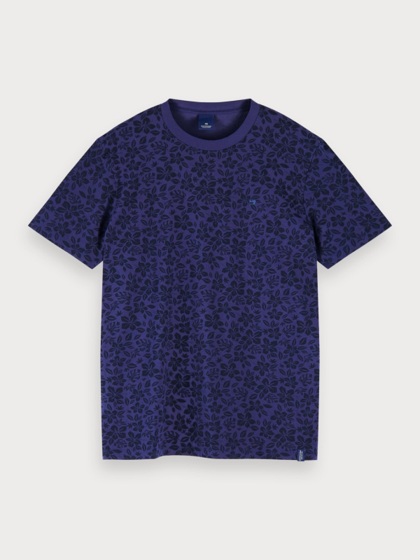 "Scotch & Soda Herren T-Shirt - ""Classic cotton crewneck tee"""