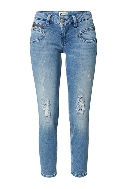 "FREEMAN T. PORTER Damen Jeans - ""Alexa Cropped fyron"""