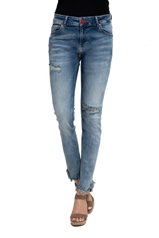 "ZHRILL Damen Jeans - ""Nova blue W7405"""