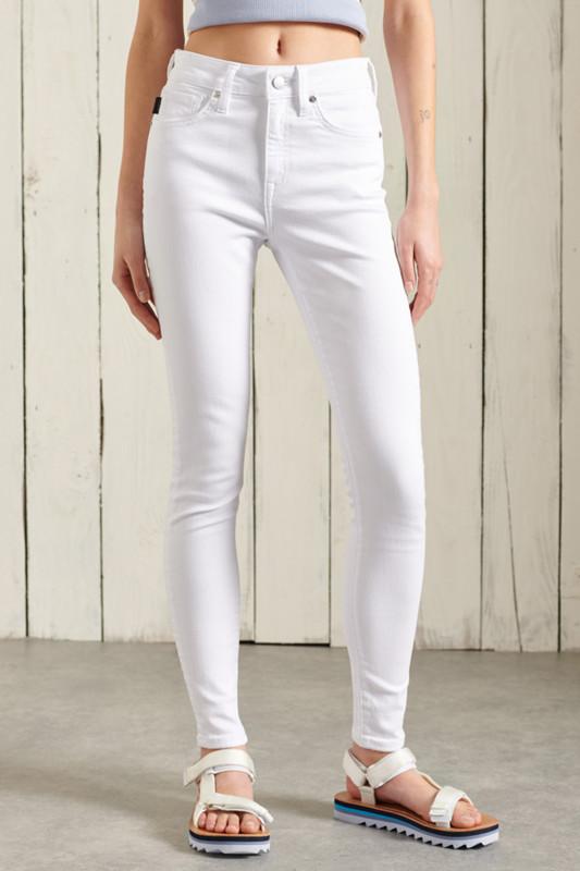 "SUPERDRY Damen Jeans - ""HIGH RISE SKINNY OPTIC"""