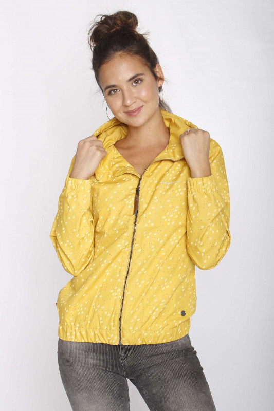 "MAZINE Damen Jacke - ""Library light jacket yellow al"""