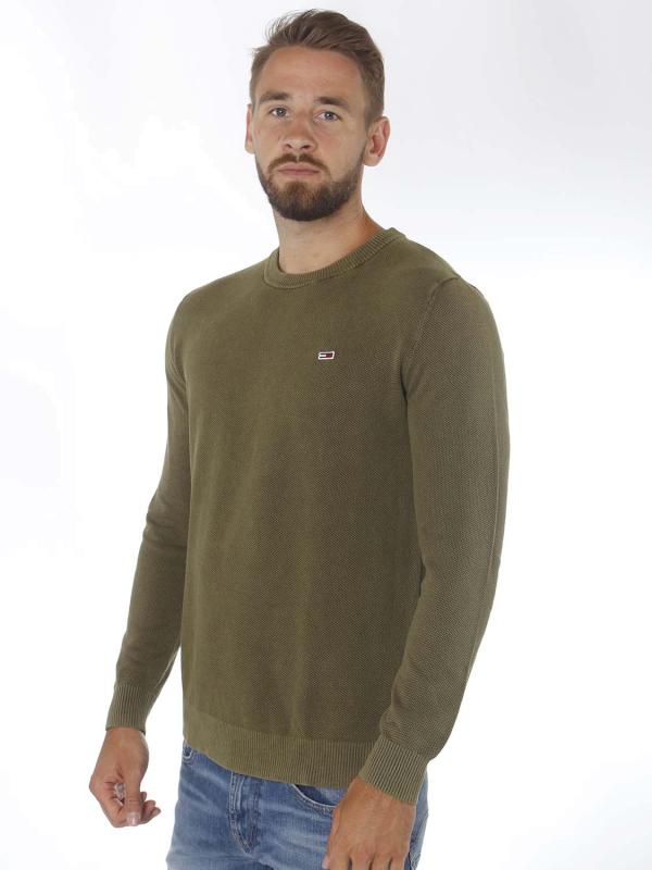 """TOMMY HILFIGER Herren Pullover - """"Lightweight Sweater olive"""""""