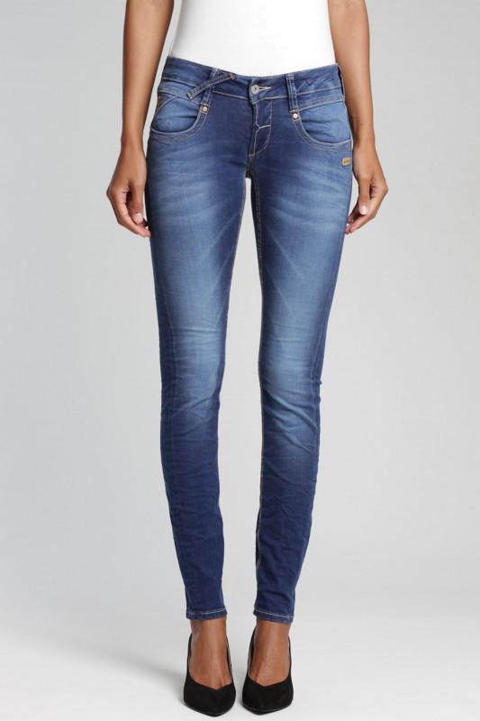"GANG Damen Jeans - ""Nena Jay Denim vivid blue wash"""