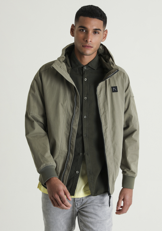 "Chasin Herren Jacke - ""Return Cotton Jacks lt. green"""