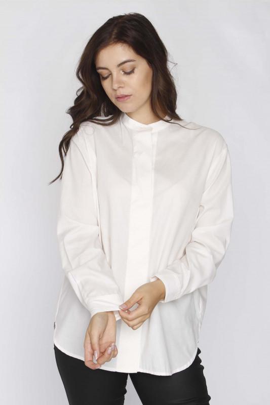 """SAMSØE & SAMSØE Damen Bluse - """"Carina col.12866 white"""""""