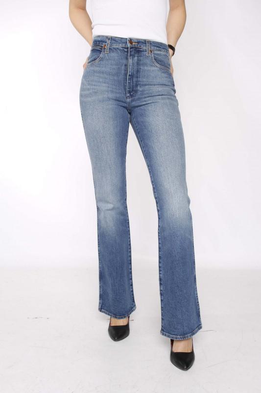 """WRANGLER Damen Jeans - """"Westward old flames"""""""