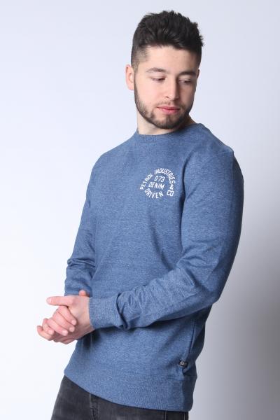 "PETROL Herren Sweatshirt - ""Sweater R-Neck royal blue"""