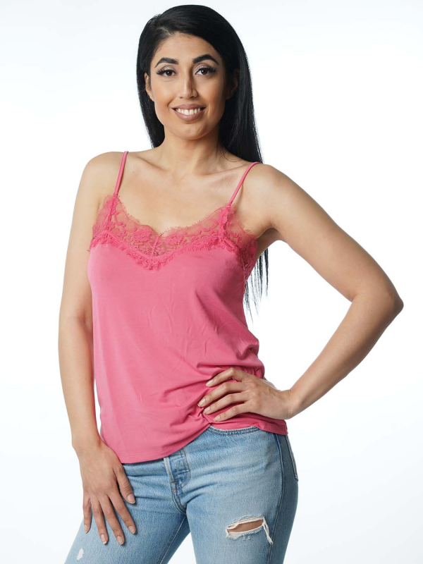 "Circle of Trust Damen Top - ""Vera Strap Top passion pink"""