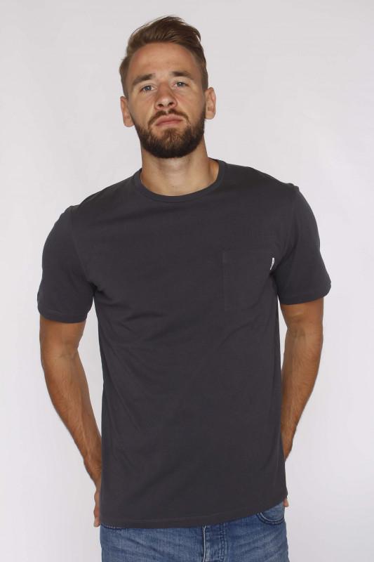 "SCOTCH & SODA Herren T-Shirt - ""Fabric dyed pocket antra"""