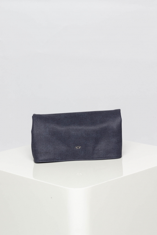 "FRITZI AUS PREUSSEN Damen Clutch - ""Ronja Small Saddle Bag navy"""