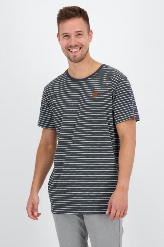 """ALIFE AND KICKIN Herren T-Shirt - """"NicAK T-Shirt marine"""""""