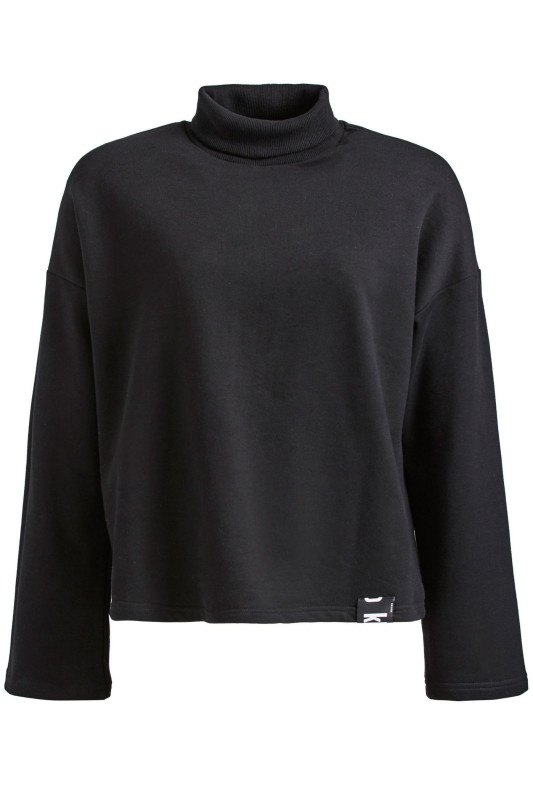 "KHUJO Damen Sweatshirt - ""Leah black"""