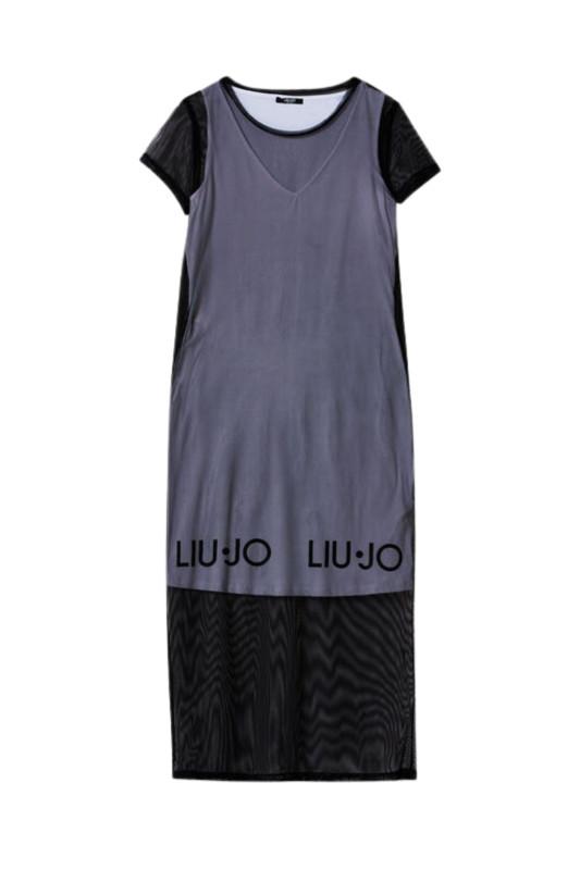 """LIU JO Damen Kleid - """"Tüllkleid mit Gürtel"""""""