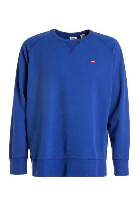 "LEVI'S Herren Sweatshirt - ""ORIGINAL HM ICON CREW sodalite blue"""