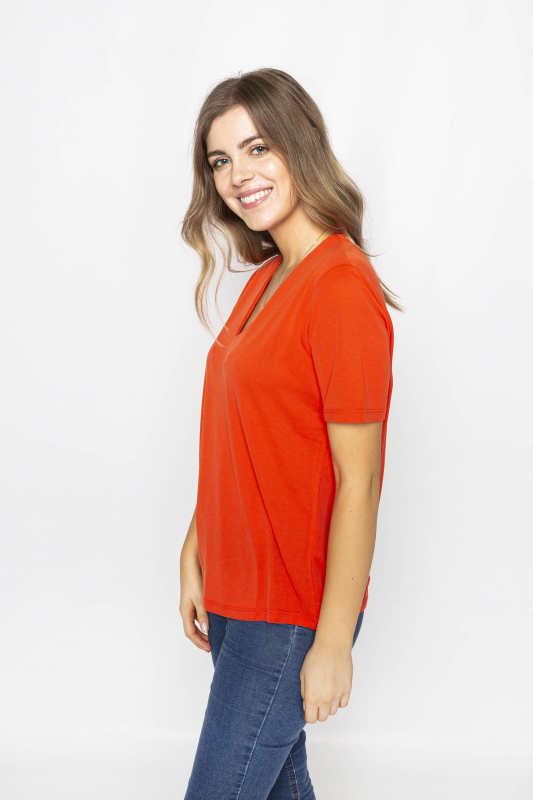 "FREEQUENT Damen T-Shirt - ""YR SS Blouse poinciana"""