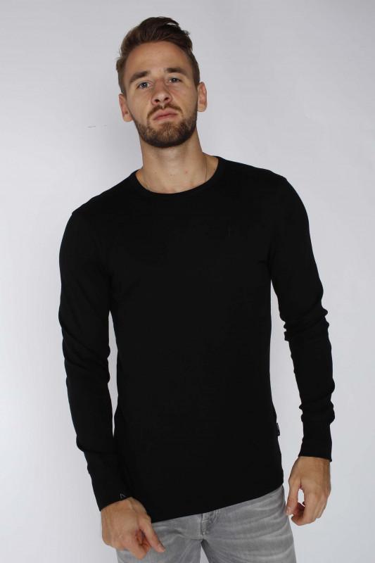 "CHASIN' Herren Longsleeve - ""DAMIAN t-shirt ls black"""