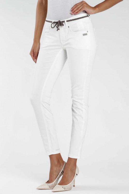"""GANG Damen Jeans - """"Faye Cropped white"""""""