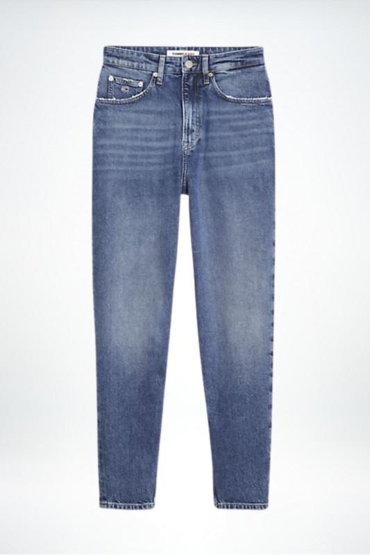 "TOMMY HILFIGER Damen Jeans - ""Tapered Leg MOM Jeans oslo light blue"""