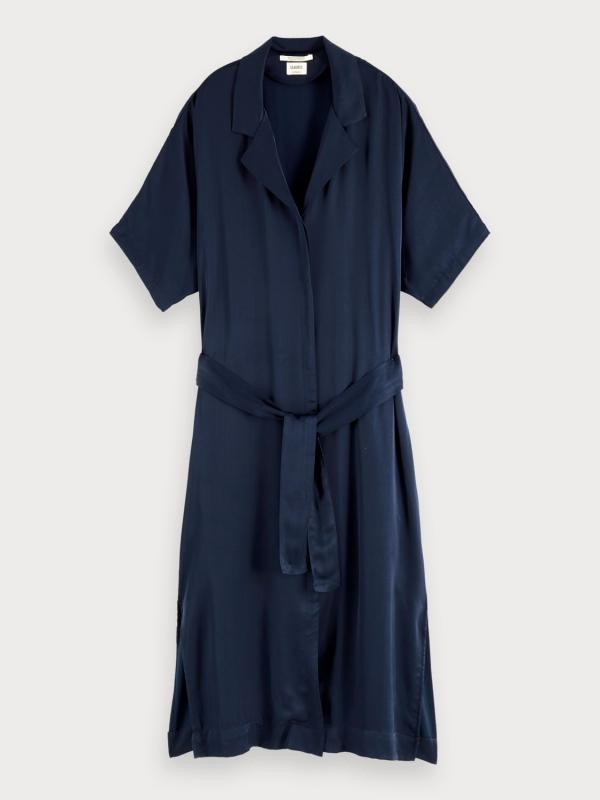 "SCOTCH & SODA Damen Kleid - ""Classic shirt dress viscose"""