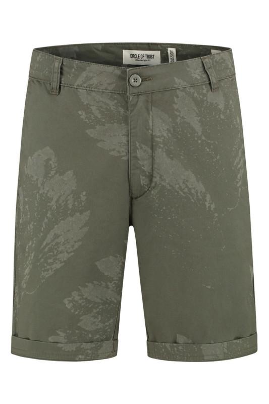 "CIRCLE OF TRUST Herren Shorts - ""Boas Short iron leafs"""