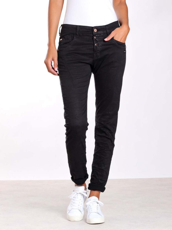 "GANG Damen Jeans - ""New Georgina peach power blk"""