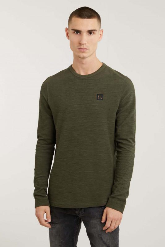 "CHASIN Herren Longsleeve - ""Appollo t-shirt ss army"""